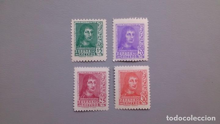 ESPAÑA - 1938 - ESTADO ESPAÑOL - EDIFIL 841/844 - MNH** - NUEVOS - FERNANDO EL CATOLICO. (Sellos - España - Estado Español - De 1.936 a 1.949 - Nuevos)