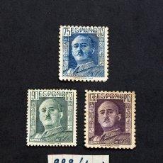 Sellos: GENERAL FRANCO - 3 SELLOS CATÁLOGO EDIFIL 999/1001 - AÑO 1946. Lote 12910271