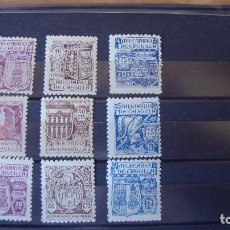 Sellos: ESPAÑA 1944 MILENARIO DE CASTILLA EDIIL 974/982 NUEVOS VER DESCRIPCION Y FOTO. Lote 138063134