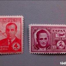 Sellos: ESPAÑA-1945 - EDIFIL 991/992 - SERIE COMPLETA - MNH** - NUEVOS - CENTRADOS - LUJO - V.CAT. +100€. Lote 139121258