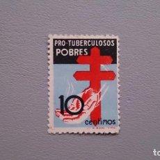 Briefmarken - ESPAÑA - 1937 - ESTADO ESPAÑOL - EDIFIL 840 - MNH** - NUEVO - CENTRADO - PRO TUBERCULOSOS. - 139483358