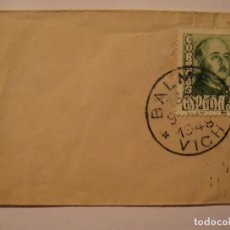 Sellos: SOBRE FRANQUEADO SELLO FRANCO. Lote 186111156