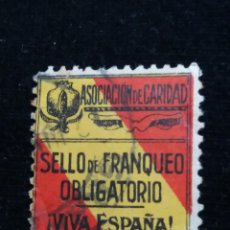 Sellos: SELLO ASOCIACION DE CARIDAD 1940.-5 CTS. 3 €. Lote 139965766