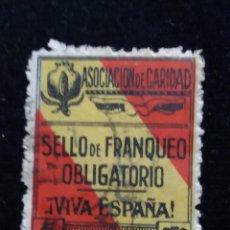 Sellos: SELLO ASOCIACION DE CARIDAD 1940.-5 CTS. 2 €. Lote 139968998