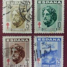 Sellos: ESPAÑA. PRO-TUBERCULOSOS, 1948 (Nº 1040-1043 EDIFIL).. Lote 140367502