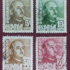 Sellos: ESPAÑA. GENERAL FRANCO, 1948-54 (Nº 1020-1023 EDIFIL).. Lote 140368890
