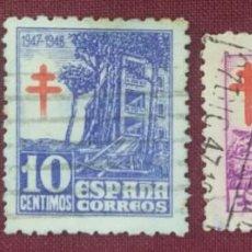 Sellos: ESPAÑA. PRO-TUBERCULOSOS, 1947 (Nº 1017-1019 EDIFIL). . Lote 140369582