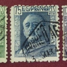 Sellos: ESPAÑA. GENERAL FRANCO, 1946-47 (Nº 999-1001 EDIFIL).. Lote 140370694