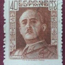 Sellos: ESPAÑA. GENERAL FRANCO, 1942. 40 CTS. CASTAÑO ROJIZO (Nº 953 EDIFIL).. Lote 140371050