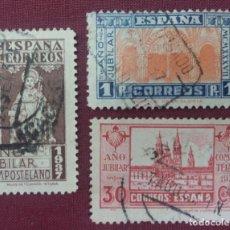 Sellos: ESPAÑA. AÑO JUBILAR COMPOSTELANO, 1937 (Nº 833-835 EDIFIL).. Lote 140372650