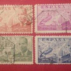 Sellos: ESPAÑA. JUAN DE LA CIERVA, 1941-1947 (Nº 940-947 EDIFIL).. Lote 140411730