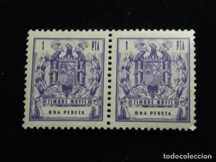 SELLO TIMBRE MOVIL 1 PTA.AÑO 1940.- NUEVO (Sellos - España - Estado Español - De 1.936 a 1.949 - Nuevos)