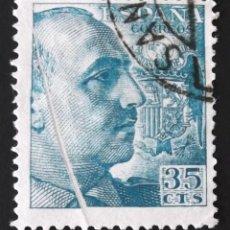 Sellos: EDIFIL 1050, USADO. CON FUELLE VERTICAL SIN CATALOGAR. FRANCO (AÑO 1949).. Lote 141640842