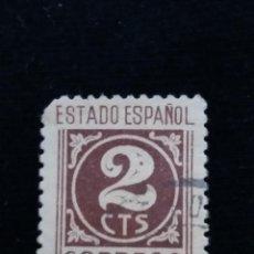 Sellos: SELLO CORREOS, ESTADO ESPAÑOL, 2 CTS AÑO 1940, USADO.. Lote 141826410