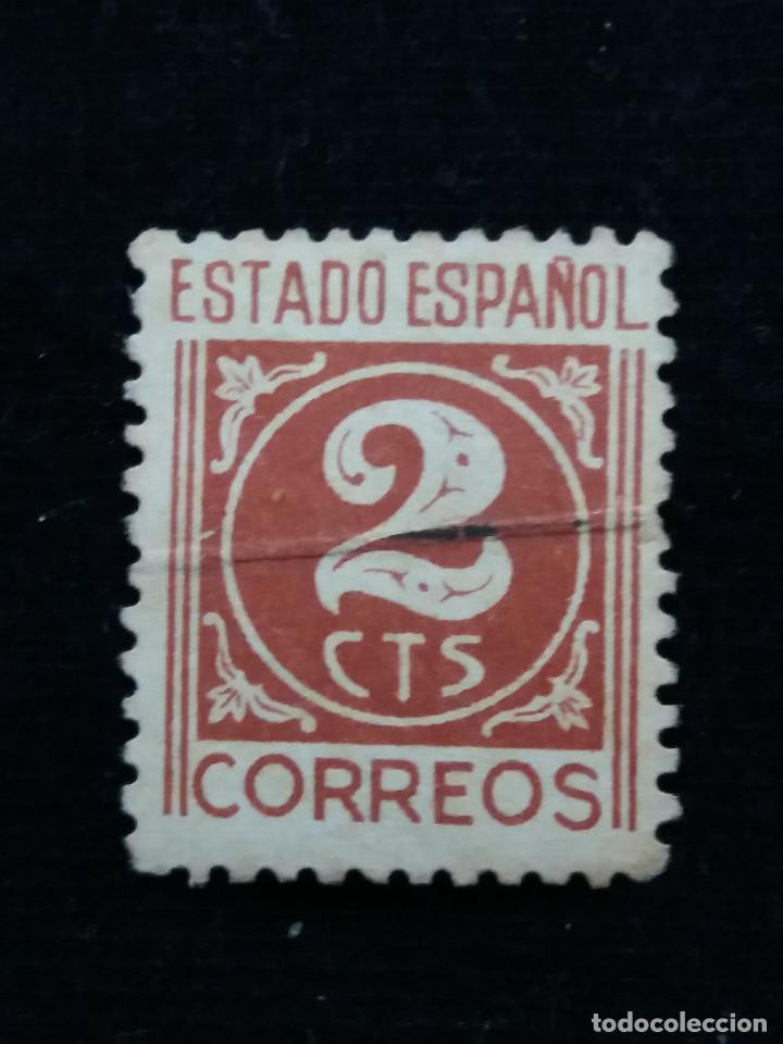 SELLO CORREOS, ESTADO ESPAÑOL, 2 CTS AÑO 1940, USADO. (Sellos - España - Estado Español - De 1.936 a 1.949 - Usados)
