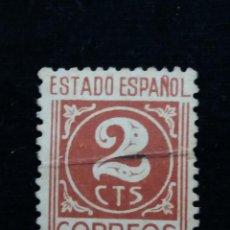 Sellos: SELLO CORREOS, ESTADO ESPAÑOL, 2 CTS AÑO 1940, USADO.. Lote 141826822