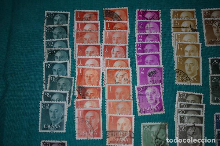 Sellos: Lote de Sellos de Franco usados - Foto 2 - 142066598