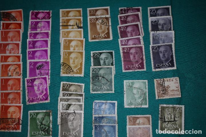 Sellos: Lote de Sellos de Franco usados - Foto 3 - 142066598