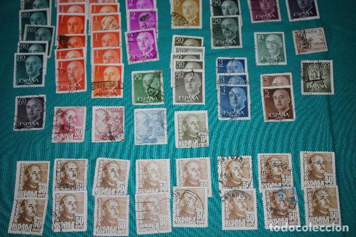 Sellos: Lote de Sellos de Franco usados - Foto 5 - 142066598