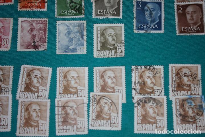 Sellos: Lote de Sellos de Franco usados - Foto 7 - 142066598