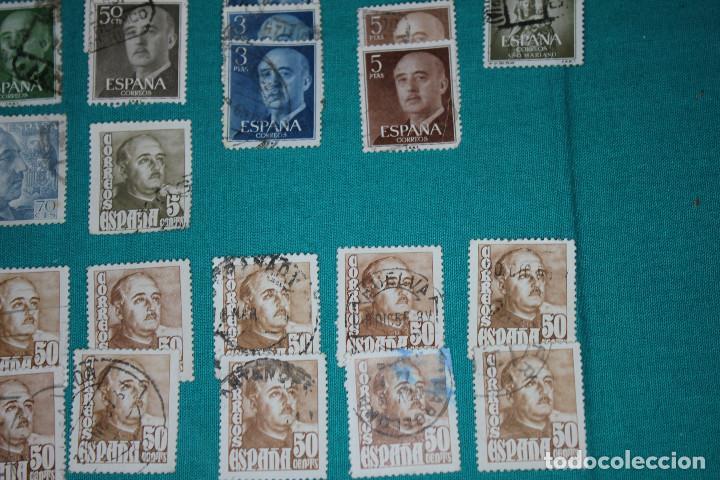 Sellos: Lote de Sellos de Franco usados - Foto 8 - 142066598