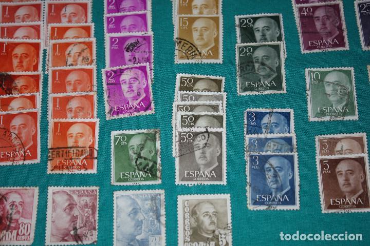 Sellos: Lote de Sellos de Franco usados - Foto 9 - 142066598