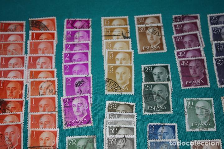 Sellos: Lote de Sellos de Franco usados - Foto 10 - 142066598
