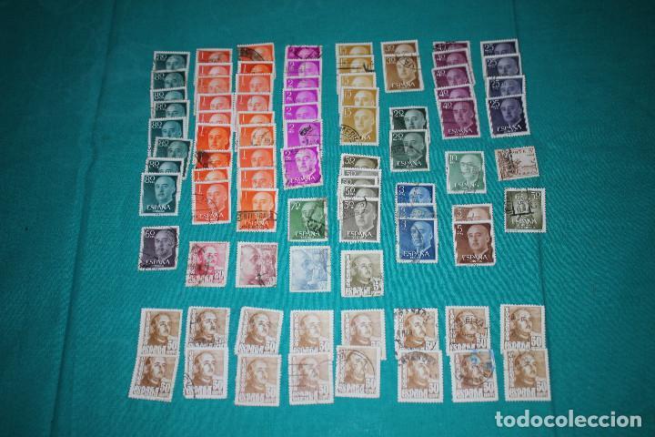 Sellos: Lote de Sellos de Franco usados - Foto 11 - 142066598