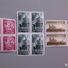 Sellos: ESPAÑA - 1953 - EDIFIL 1126/1128 - SERIE COMPLETA - BLOQUE DE 4 - MNH** - NUEVOS - V. CATALOGO 200€.. Lote 143322438