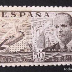 Sellos: 943, NUEVO, SIN CH. JUAN DE LA CIERVA (1941).. Lote 143430510