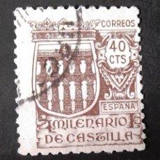 Sellos: 978, USADO. MILENARIO DE CASTILLA (1944).. Lote 143599790
