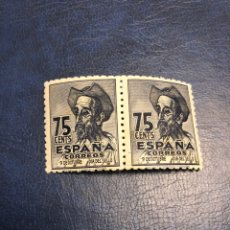 Sellos: SELLO ESPAÑA VARIEDAD 1013T GUION DELANTE 9. Lote 143657385