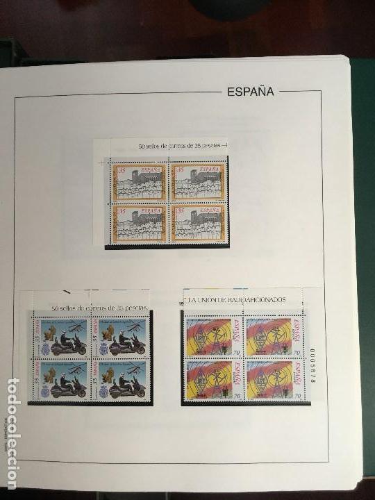 Sellos: MAGNIFICA COLECCION DE SELLOS .9 tomos en bloques de 4 1968-2002 - Foto 4 - 137115074