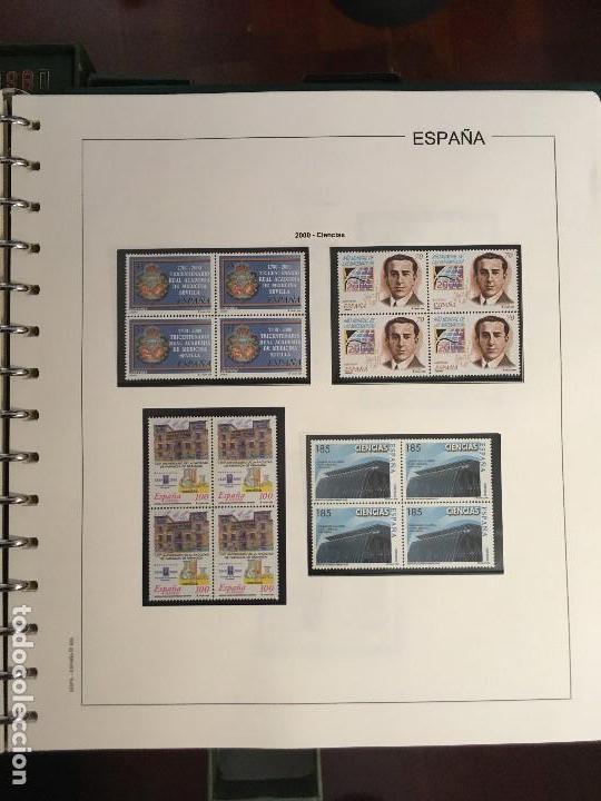 Sellos: MAGNIFICA COLECCION DE SELLOS .9 tomos en bloques de 4 1968-2002 - Foto 5 - 137115074
