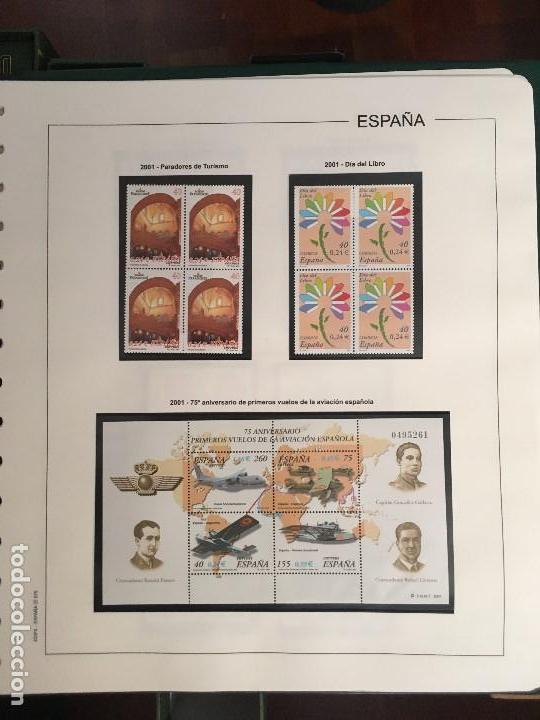 Sellos: MAGNIFICA COLECCION DE SELLOS .9 tomos en bloques de 4 1968-2002 - Foto 6 - 137115074