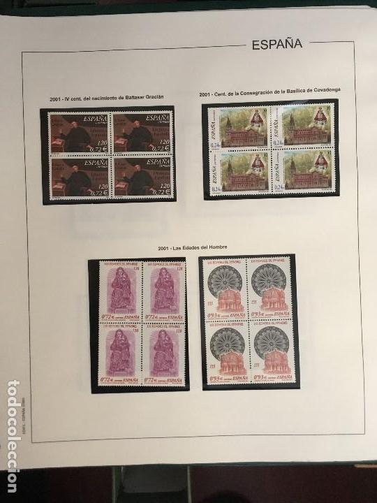 Sellos: MAGNIFICA COLECCION DE SELLOS .9 tomos en bloques de 4 1968-2002 - Foto 7 - 137115074
