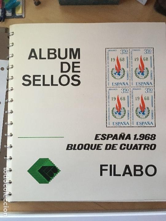 Sellos: MAGNIFICA COLECCION DE SELLOS .9 tomos en bloques de 4 1968-2002 - Foto 8 - 137115074