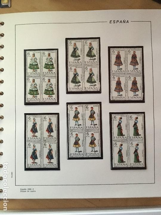 Sellos: MAGNIFICA COLECCION DE SELLOS .9 tomos en bloques de 4 1968-2002 - Foto 9 - 137115074
