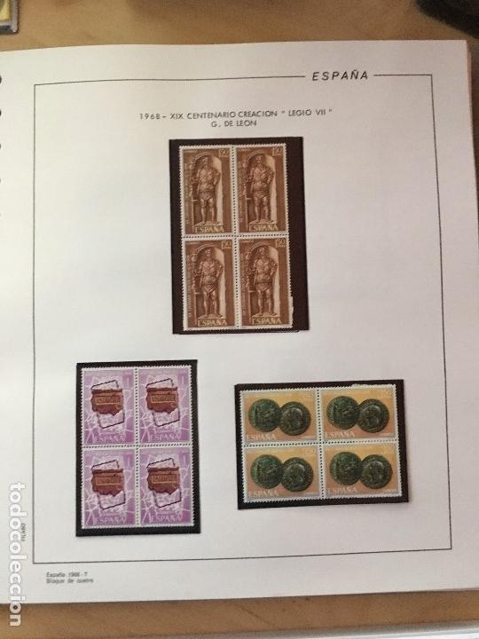 Sellos: MAGNIFICA COLECCION DE SELLOS .9 tomos en bloques de 4 1968-2002 - Foto 10 - 137115074