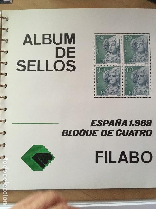 Sellos: MAGNIFICA COLECCION DE SELLOS .9 tomos en bloques de 4 1968-2002 - Foto 11 - 137115074