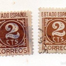 Sellos: ESPAÑA 1937/40 EDIFIL 815 USADOS. Lote 145705078