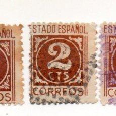 Sellos: ESPAÑA 1937/40 EDIFIL 815 USADOS. Lote 145705302