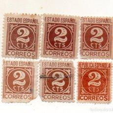 Sellos: ESPAÑA 1937/40 EDIFIL 815 USADOS. Lote 145706038