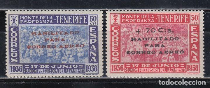 CANARIAS. 1938 EDIFIL Nº 56 / 57 /*/ (Sellos - España - Estado Español - De 1.936 a 1.949 - Nuevos)