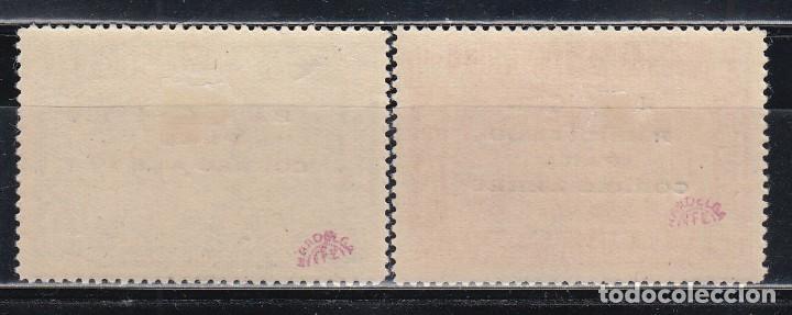 Sellos: CANARIAS. 1938 EDIFIL Nº 56 / 57 /*/ - Foto 2 - 146299490