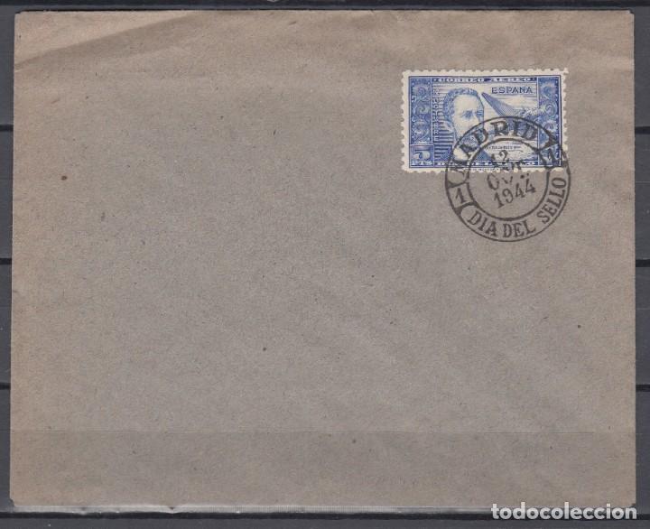 SOBRE CON EL SELLO EDIFIL Nº 983, MATASELLOS ESPECIAL *DIA DEL SELLO* (Sellos - España - Estado Español - De 1.936 a 1.949 - Cartas)