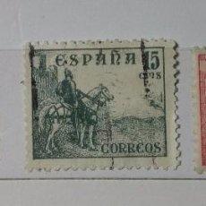 Sellos: ESPAÑA 1937, TRES SELLOS SERIE EL CID USADOS . Lote 147537658