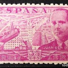 Sellos: EDIFIL 942, NUEVO, SIN CH. JUAN DE LA CIERVA.. Lote 147570350