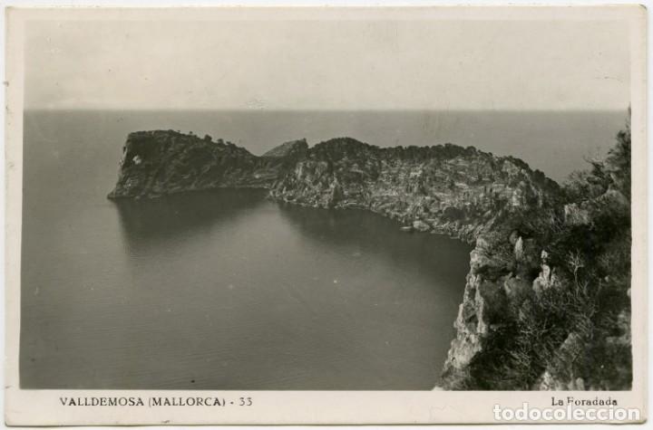 Sellos: Tarjeta postal circulada Mallorca a Barcelona en 1946, matasellos correo aéreo - Foto 2 - 147700966