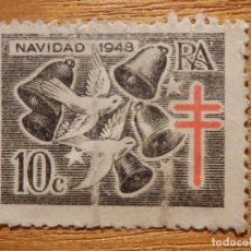 Sellos: SELLO - VIÑETA - NAVIDAD 1948 - 10 CÉNTIMOS. Lote 148111678